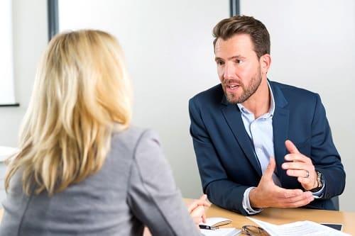 Real estate deal conversation